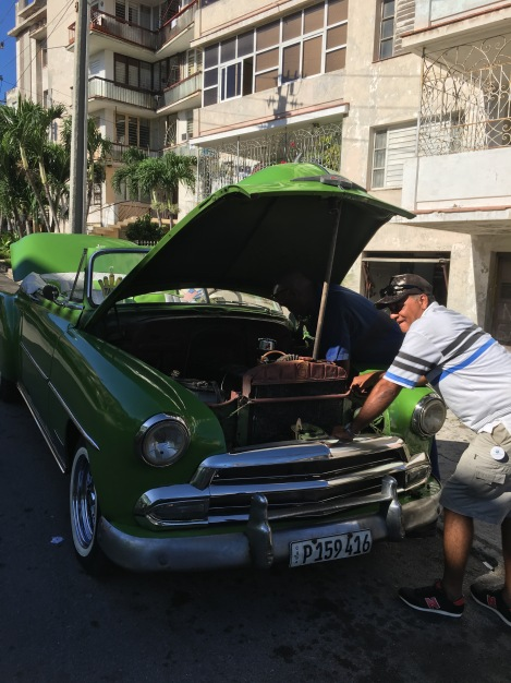 Repairs needed in Deco-era Vedado